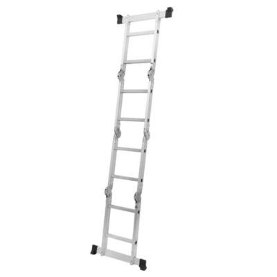 Escalera multipropósito aluminio 8 escalones