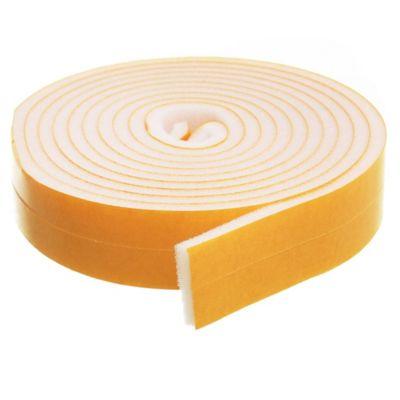 Burlete adhesivo universal 6 m blanco