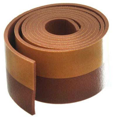 Zócalo 1 m rollo adhesivo marrón