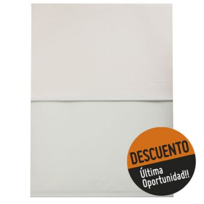 Cortina enrollable doble natural 120 x 160 cm