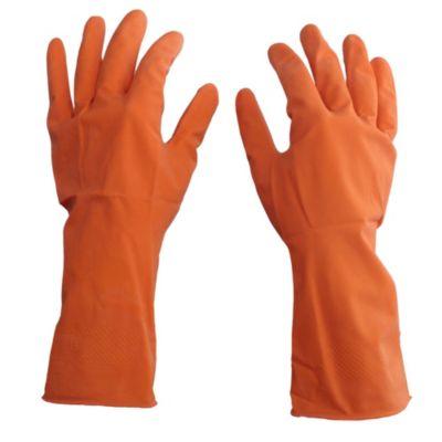Guante naranja talle pequeño