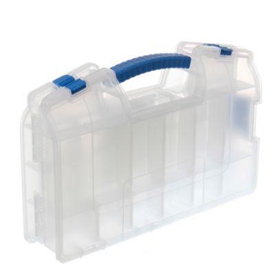 Caja plástica organizadora doble plegable