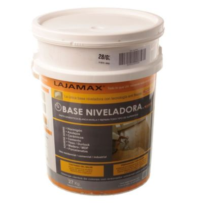 Base niveladora + aditivo 27 kg