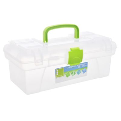 Caja plástica plástica organizadora 30 x 18 cm