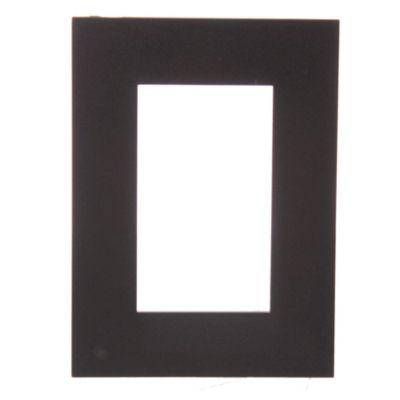 Tapa rectangular gris línea minimal natural