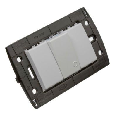 Set semi armado 1 interruptor líneas piano/quadra