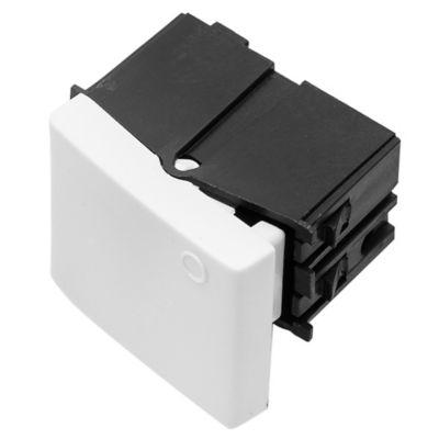 Módulo interruptor medio teclón blanco