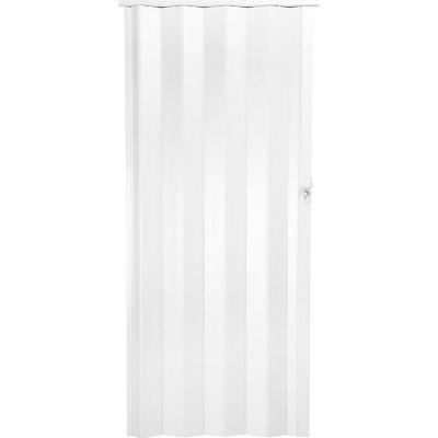Puerta plegable milano blanca 90 x 200 cm derec...