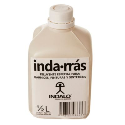 Aguarrás mineral inda-rrás 0.5 l