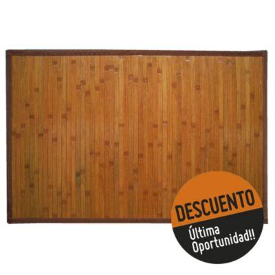 Alfombra de bamboo 90 x 150 cm
