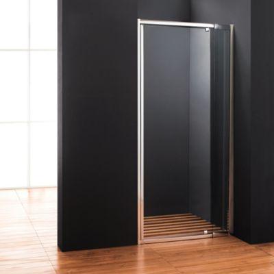 Mampara para ducha al piso ajustable de 100 a 120 x 185 cm