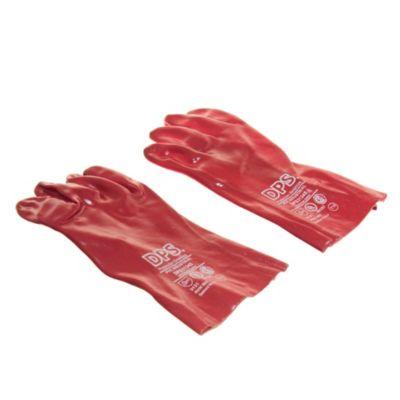Guante Pvc Rojo 30 cm