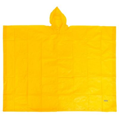 Poncho lluvia amarillo 50 x 80 cm