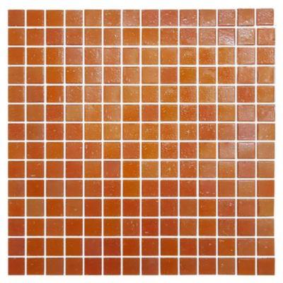 Mosaico 30.7 x 30.7 Veneciano naranja