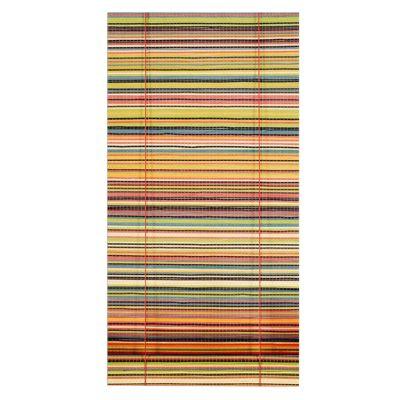 Cortina enrollable bambú colores 80 x 165 cm