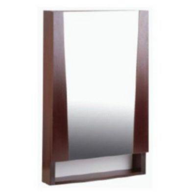 Botiquín para baño con espejo con espejo 93 x 60 cm wengue marina