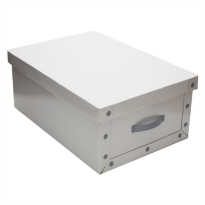 Caja blanca chica 45 x 35 x 16 cm