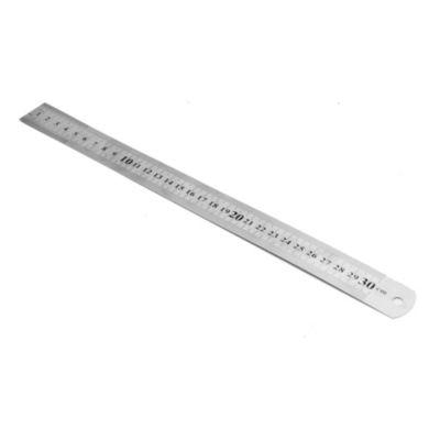 Regla de acero de 30 cm