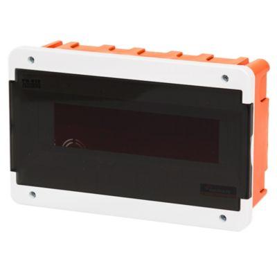 Caja para térmicas plástica de embutir línea recta para térmicas din ip40 12 módulos