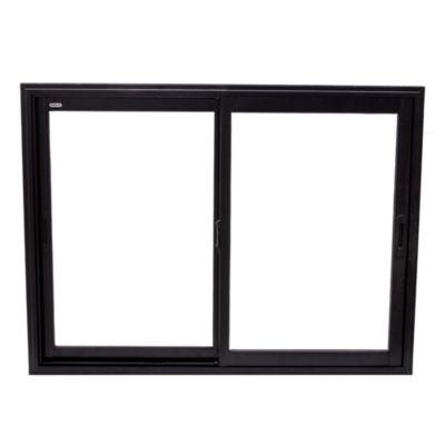 Ventana de aluminio negra 150 x 110 x 10 cm