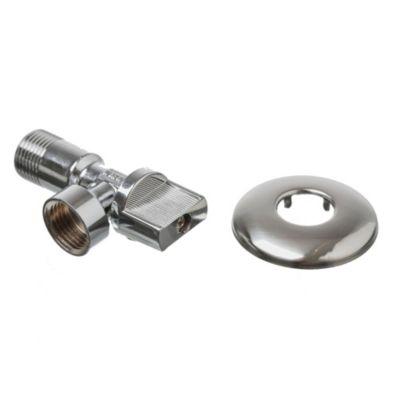 """Válvula a Codo metálico 1/2"""" x 1/2"""" MH para Flexible"""