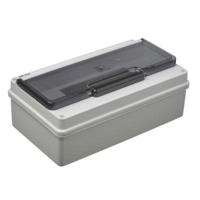Caja para térmicas plástica de superficie para térmicas din ip55 12 módulos