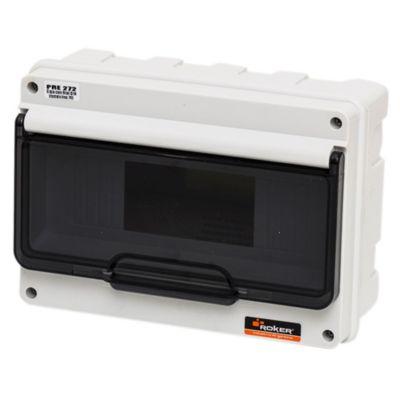 Caja para térmicas plástica de embutir para térmicas din ip55 9 módulos