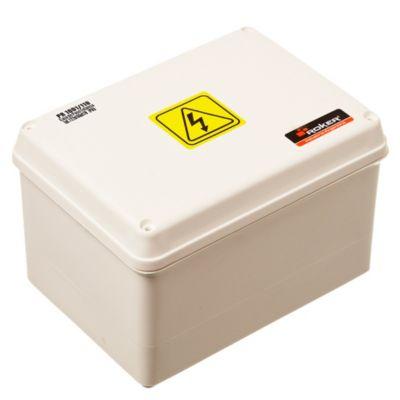 Caja plástica de paso estanca ip65 122 x 166 x 81 mm