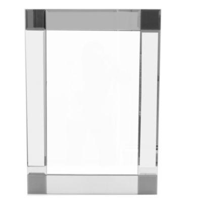 Espejo de baño 50 x 70 cm con marco de vidrio