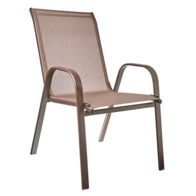 Silla apilable sling chocolate