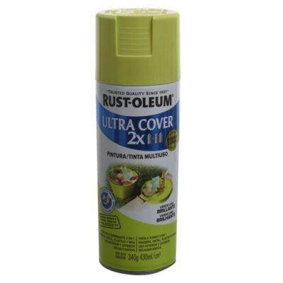 Pintura en aerosol multiuso Ultra Cover 2x verde Lima brillante 340 g