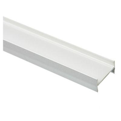 Perfil unión de placa tipo h aluminio