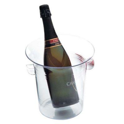 Balde para champagne de plástico
