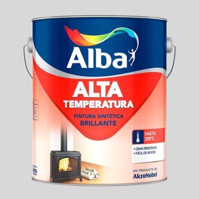 Pintura sintética alta temperatura aluminio 1 L