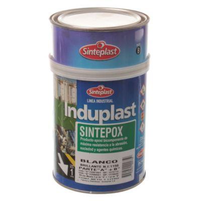 Esmalte Epoxi Induplast Sintepox brillante blanco 1 l