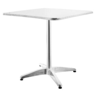 Mesa de exterior de aluminio 70 x 70 cm