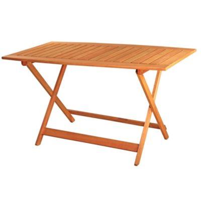Mesa de exterior Tucán de madera de eucaliptus