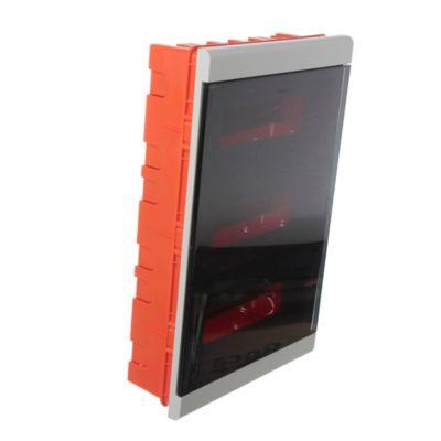 Caja para térmicas plástica de embutir para térmicas din ip40 36 módulos