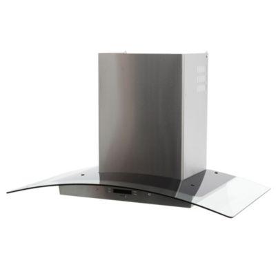 Campana Arcus LCD acero 90 cm
