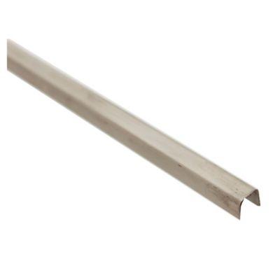 Listel acero esmerilado 10 mm