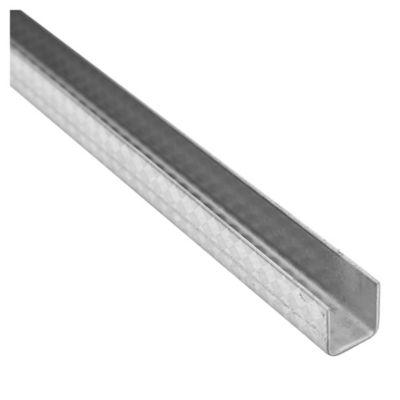 Listel acero texturado 10 mm