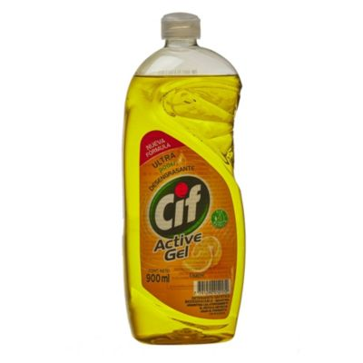 Detergente para vajilla líquido en gel limón 900 ml