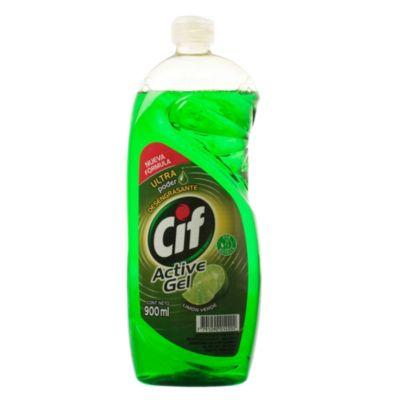 Detergente para vajilla líquido activa en gel 900 ml