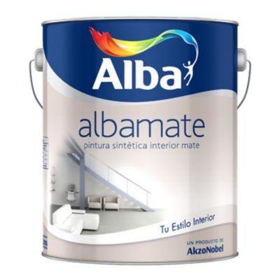 Pintura sintética albamate blanco 4 L