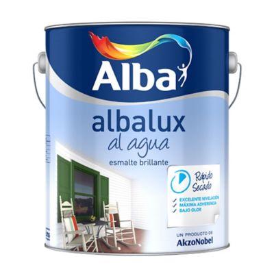Esmalte Albalux al agua Satinol blanco 1 l