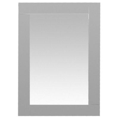 Espejo para baño Klee 50 x 70 cm gris