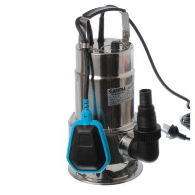 Bomba sumergible de acero inoxidable para aguas sucias 550 w