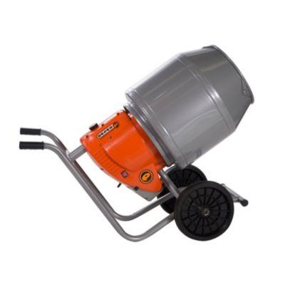 Hormigonera chapa ruedas macizas 130 l