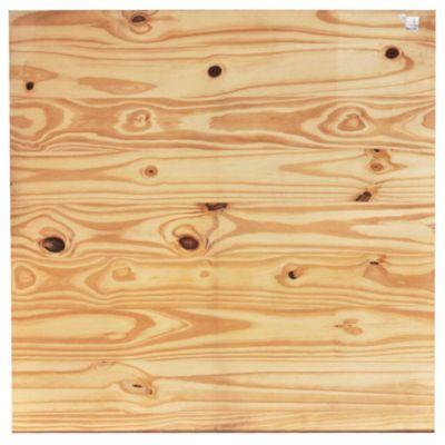 Descanso panel pino 95 x 95 x 3 cm