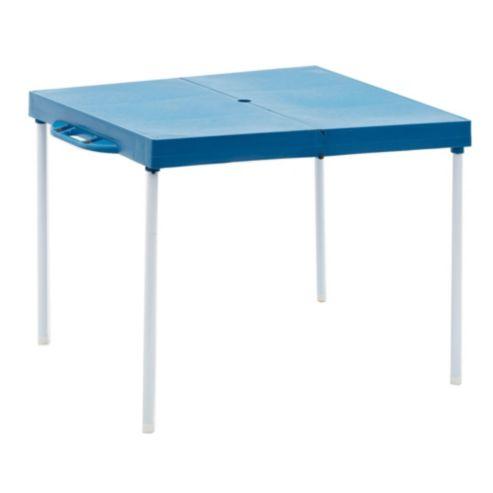 De Y Azul Mor Plegable Mesa Plástico Aluminio 1806637 534RLAjq